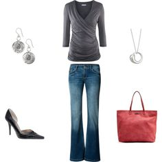 Casual Friday...looks dressy to me!