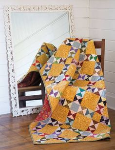 I think this will be my next quilt....not sure yet about the colors to use!