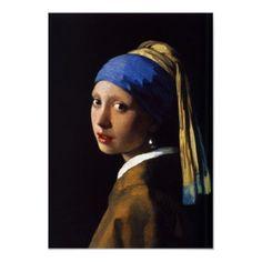 galleries, girl, mona lisa, pearl earrings, pearls