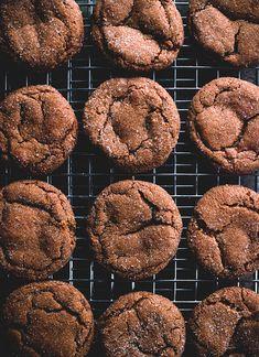 Smoky Cardamom Ginger-Molasses Cookies smoki cardamom, sweet, bake, food, cardamom gingermolass, gingermolass cooki, recip, cookies, carey nershi