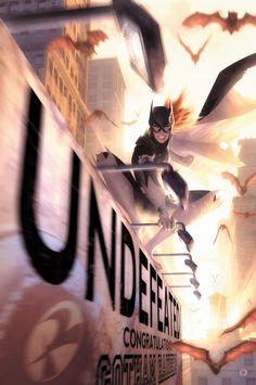 Batgirl #34 by Alex Garner *