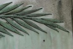 How to Cast Cement Leaves.