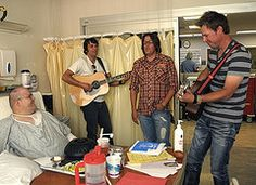Black River recording artist Due West volunteering with Musicians In Motion