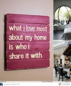 What I love most about my home is who I share it with ... <3