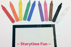 Storytime ABC's: Flannel Friday: The Crayon Box that Talked