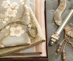 All About Aqua Fabrics, Fabrics by the Yard - Calico Corners