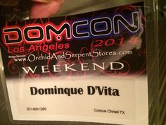 Today I will be at DomCon LA aka the Dominatrix Convention. Find me at the DDI Magazine booth.