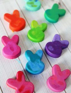 Bunny Crayons DIY by Cindy Hopper for Alphamom.com