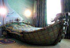 wooden boats, ship, bed designs, kid rooms, sail away, dream bed, bedroom, man caves, sweet dreams