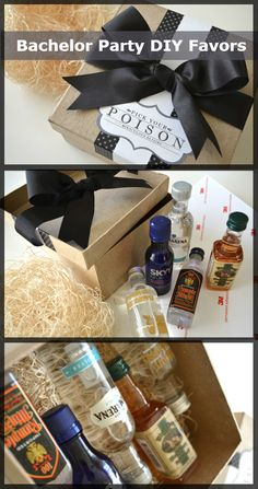 Bachelor Party DIY Favors http://weddingideasbyyou.com/2014/03/03/bachelor-party-diy-favors/ Follow Us on Pinterest --> http://www.pinterest.com/weddingideasbyu/