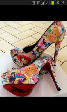 Wow disney shoes!