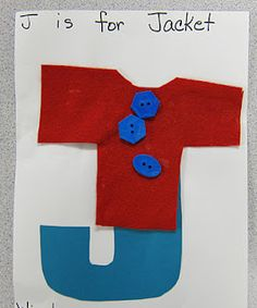 Jj is for jacket.  Must get some of these buttons.