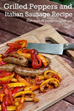 Grilled Peppers and