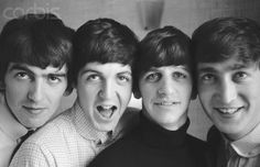 The golden young and lovely Beatles!