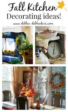 #Fall #autumn #kitchendecoratingideas. #Budget friendly.