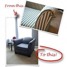 How to upholster a chair - JUST WHAT I NEED!!!