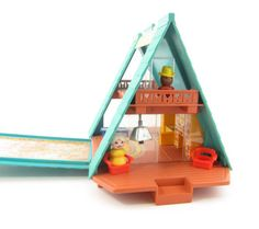 Home: Eleven Vintage Toys For Your Favourite Kidlet (via Fisher Price A Frame Little People Play by BrownEyedRoseVintage)