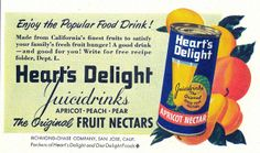 1948 ad for Heart's Delight Juicidrinks (via File Photo) | Flickr - Photo Sharing!