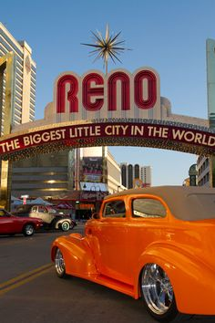 Reno Nevada for Hot August Nights