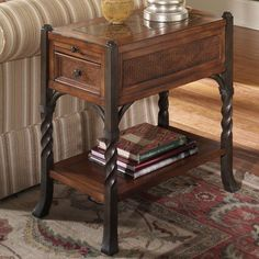 Have to have it. Riverside Medley Chairside Table $351.00