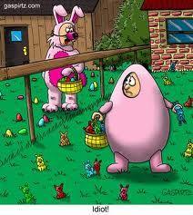 Easter Jokes egg bunny