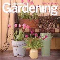 Flower Calendars: Organic Gardening - 12 Month - 11.7'x11.7' $4.99