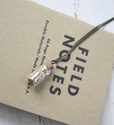 DIY Fashion: Make A Fairy Dust Necklace