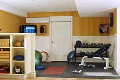 workout room!