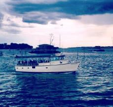Don't miss the Thimble Islands just off the coast of Branford, CT, less than 20 minutes from campus. The cruise is a must-do!
