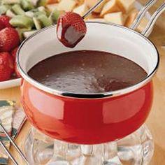 mocha fondue recipe
