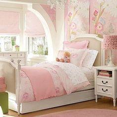 Lovely little girl's room.