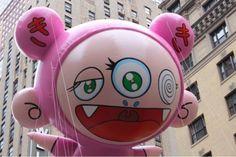 Takashi Murakami balloons @ Macy's Thanksgiving Day Parade