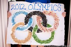 Day 59. Olympic Themed Crafts and Games for the Kids