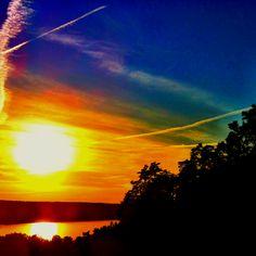 Cayuga Lake View @ Sunset Park. Ithaca, NY.