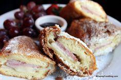 Disney Recipe: Monte Cristo Sandwich in Disneyland!