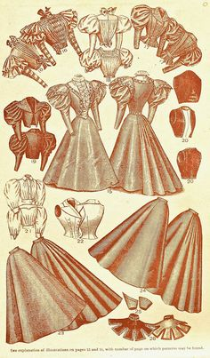 histori, histor fashion, 1896, thompson univers, 1890s, 1900 fashion, victorian era fashion, univers garment, garment cutter