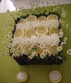 Centrotavola matrimonio con camomilla, agrumi e spezie