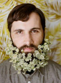 Flower beard!