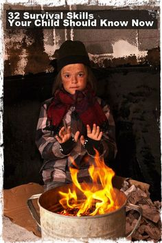 32 Survival Skills Your Child Should Know Now