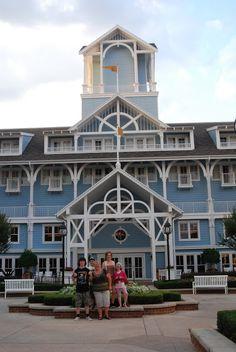 Dinner at Cape May - Walt Disney World