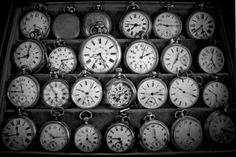 so many clocks yet so little time.