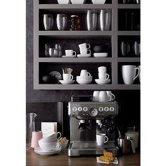 Breville® Barista Express Espresso Machine in Espresso Makers | Crate and Barrel