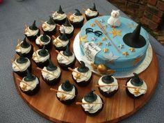 Harry potter dessert! Harri Potter, Cupcake Recipes, Cake Idea, Potter Parti, Harry Potter Cakes, Food, 11Th Birthday, Cupcake Cakes, Harry Potter Dessert