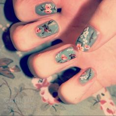 ❤ nail, nails, fingernails, design, art