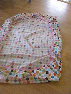 DIY crib sheets