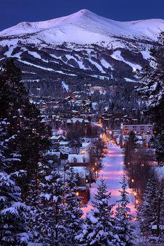 Breckenridge at Dawn, Colorado