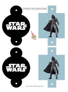 Free Star Wars Party Printables (Heaps to choose from, banners, stickers, invites + more!) #free star wars