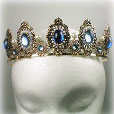 Anne Boleyn Sapphire Tiara