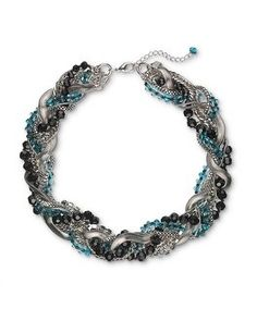 White House | Black Market With A Twist Necklace