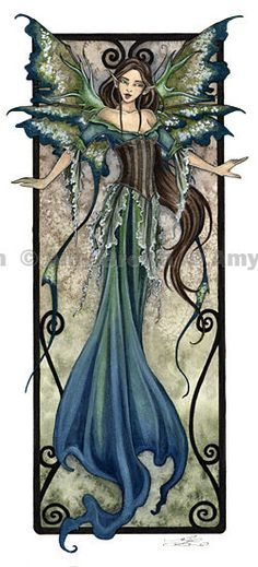 LIMITED EDITION fairy PRINT Fae 2 by Amy Brown. $10.00, via Etsy.